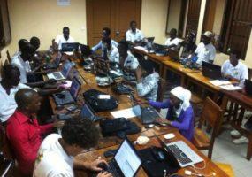 La Nuit du Mapping  à Abidjan