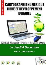 OGP16 :Cartographie Numérique et Développement Durable